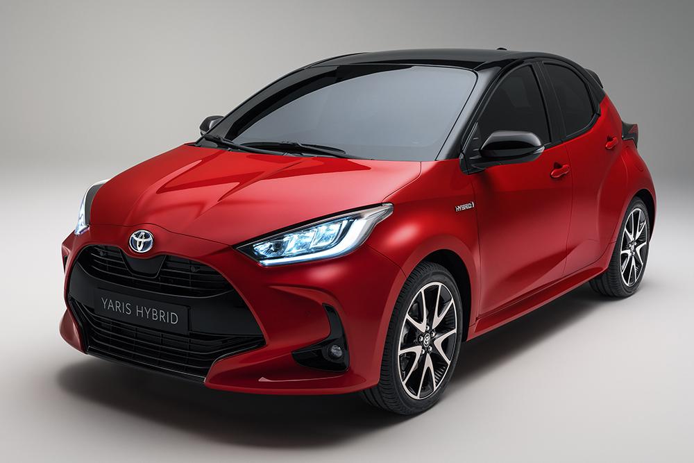 новый Toyota Yaris