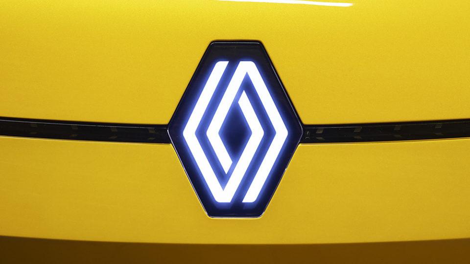 новый логотип рено