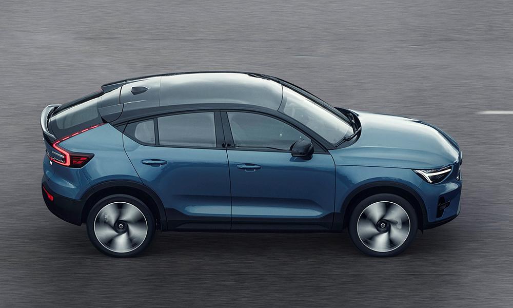 Volvo C40 Recharge Вольво, электрокары, кроссоверы, фото, электромобили